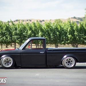 SSworxs Datsun 521 Truck Fender Flares