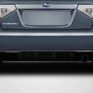 2008-2010 Subaru Impreza WRX HB Carbon Creations DriTech Backstop Rear Diffuser - 1 Piece