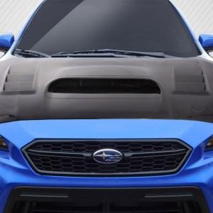 2015-2020 Subaru WRX Carbon Creations C-1 Hood - 1 Piece