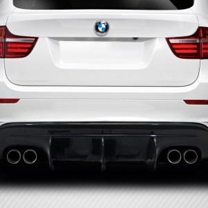 2008-2014 BMW X6M E71 E72 Carbon Creations DriTech AK-M Rear Diffuser - 1 Piece