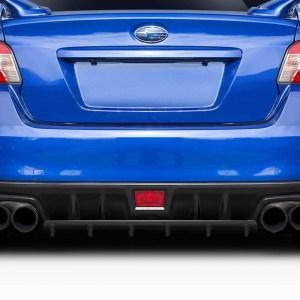 2015-2020 Subaru WRX STI Duraflex C-Speed Style Rear Diffuser - 1 Piece