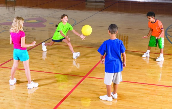 Kids Physical Education Class