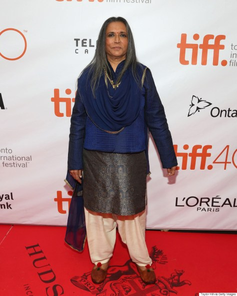 "TORONTO, ON - SEPTEMBER 13: Director Deepa Mehta attends the gala premiere of ""Beeba Boys"" at Roy Thomson Hall during the 2015 Toronto International Film Festival on September 13, 2015 in Toronto, Canada. (Photo by Taylor Hill/FilmMagic)"
