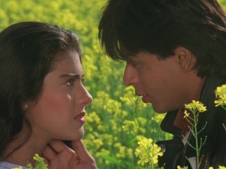 1. Simran Singh and Raj Malhotra, Dilwale Dulhania Le Jayenge (1995) A worldwide phenomenon turning stars Shah Rukh Khan and Kajol into Bollywood legends. The film has played at one Mumbai cinema every day since its 1995 release.