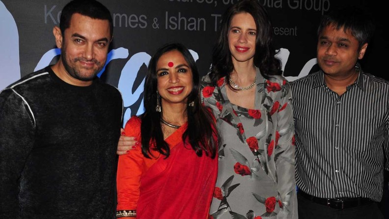 Aamir Khan, Kalki Koechlin and Shonali Bose