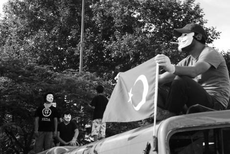 Stolze Türken: Die Menschen kämpfen für die Zukunft ihres Landes