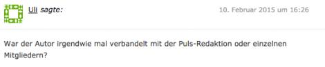 Kommentar von BR-Intendant Ulrich Wilhelm
