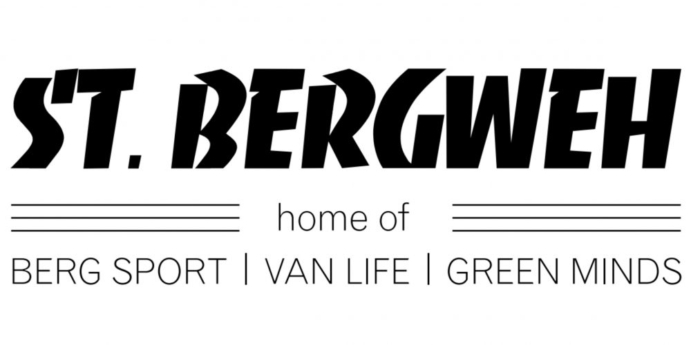 St. Bergweh Logo 2021: St. Bergweh: home of Berg Sport, Van Life & Green Minds