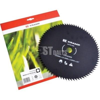Krūmų peilis 80 dantukų-250-25.4-2 mm