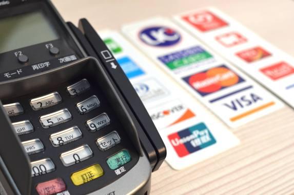 クレジットカード取扱い