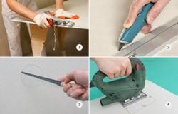 Comment faire une partition de plâtre de plâtre et profil avec vos propres mains - instructions pas à pas pour les débutants