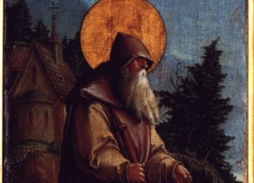 Der heilige Paulus als Eremit