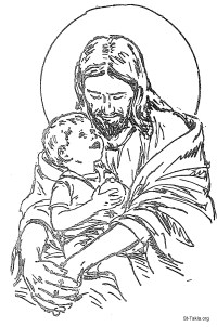 Jesus As King Coloring Page Coloring Pages