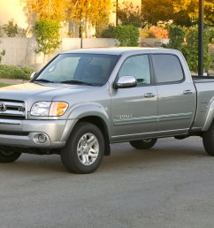 2004 toyota tundra double cab left front angle [ 2048 x 1360 Pixel ]