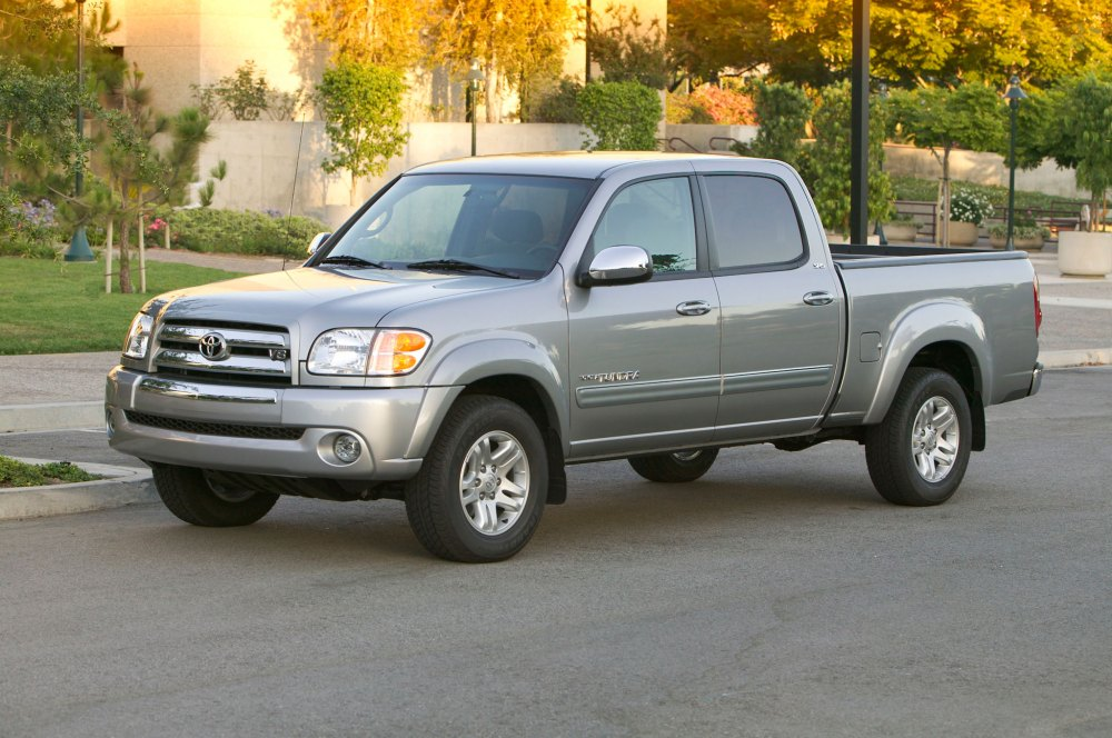 medium resolution of 2004 toyota tundra double cab left front angle