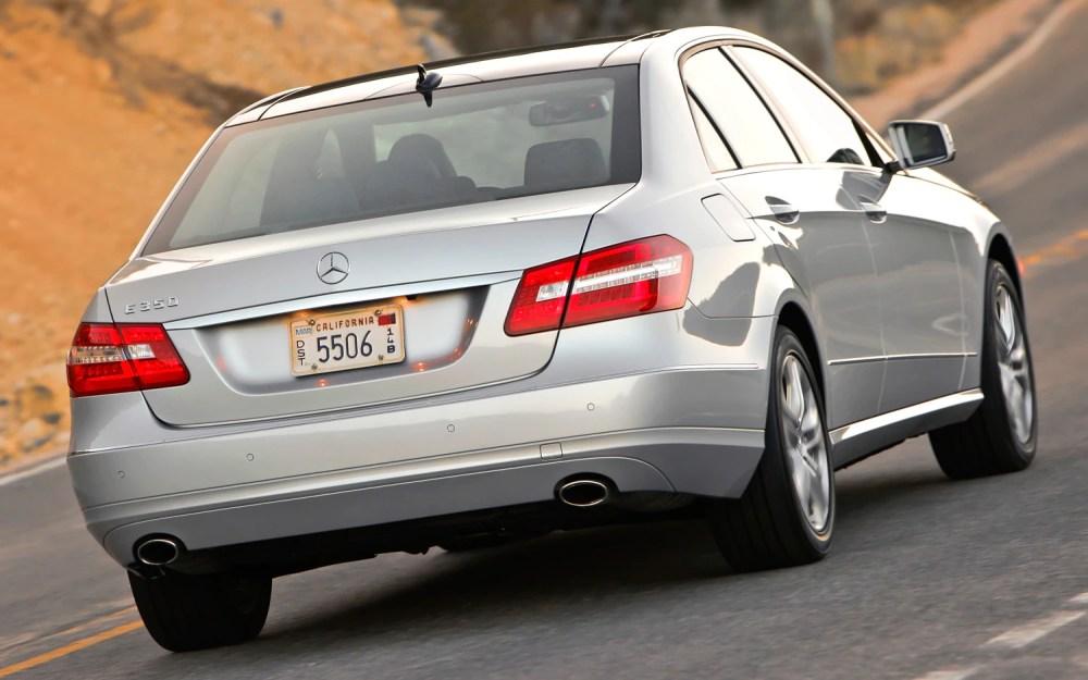 medium resolution of 2012 mercedes benz e350 sedan rear