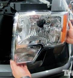 2013 ford f 150 hid raptor headlight conversion [ 1500 x 1000 Pixel ]