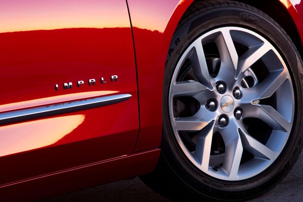 medium resolution of 2014 chevrolet impala ltz
