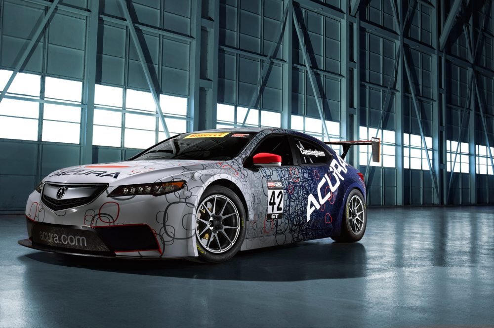medium resolution of 2015 acura tlx gt race car