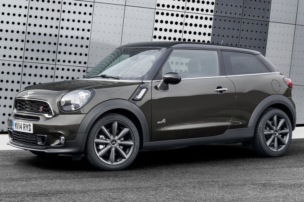 medium resolution of 2015 mini paceman side front view 2