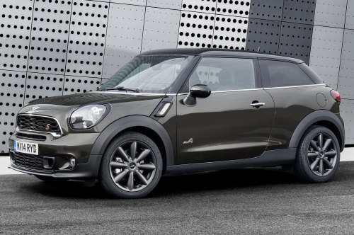small resolution of 2015 mini paceman side front view 2