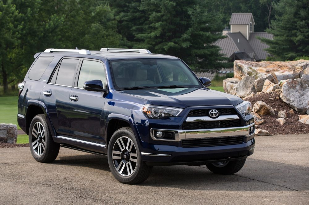 medium resolution of 2015 toyota 4runner limited front three quarter 02