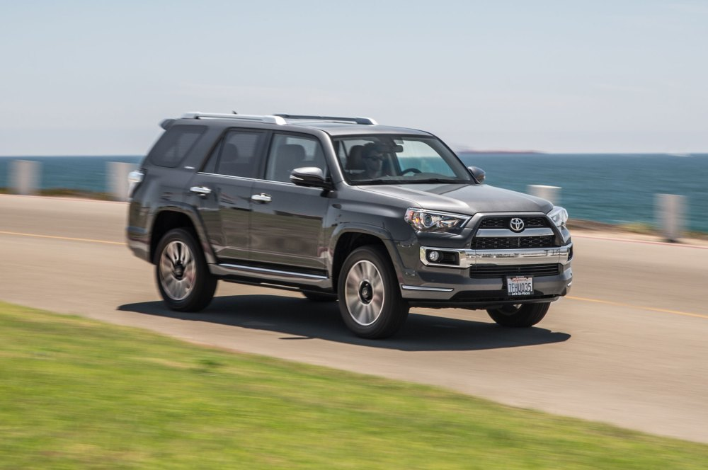 medium resolution of 2015 toyota 4runner limited front three quarter in motion 02