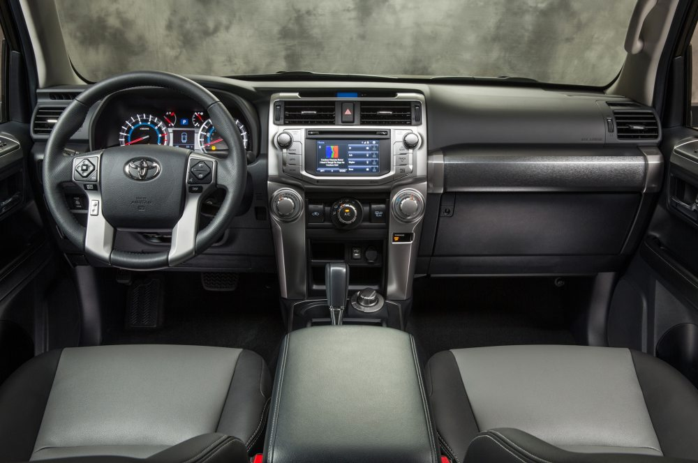 medium resolution of 2015 toyota 4runner sr5 cabin