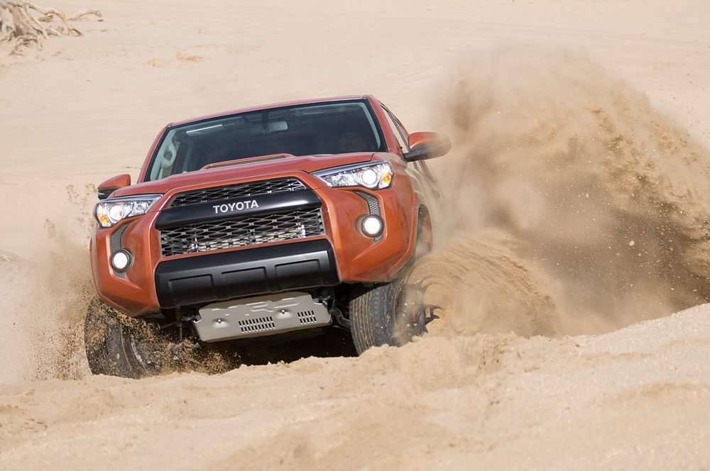 medium resolution of 2015 toyota 4runner trd pro front view sand