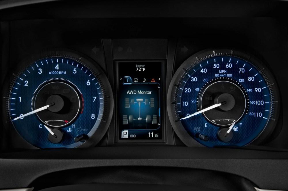 medium resolution of 2015 toyota sienna se speedometer