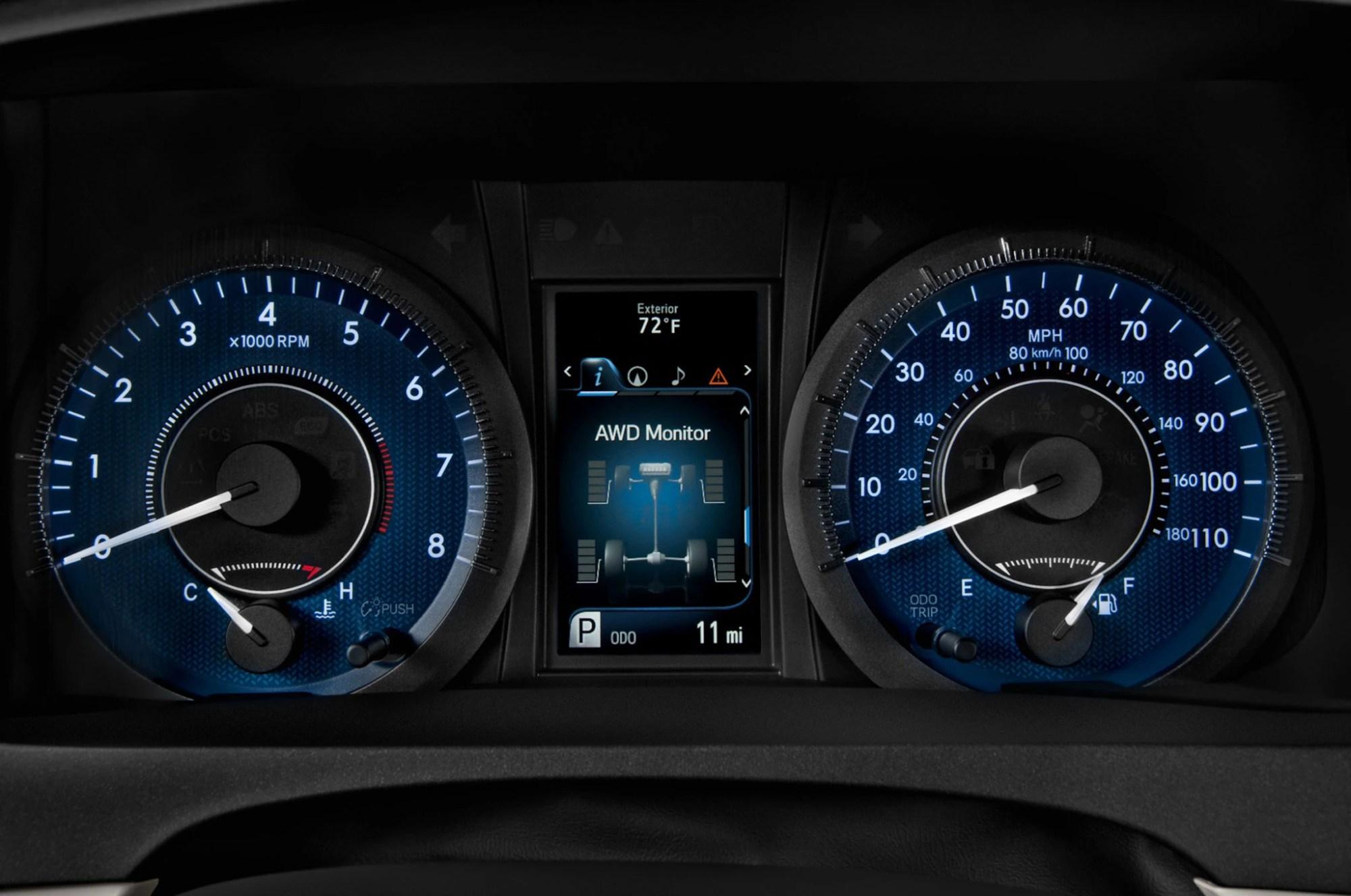 hight resolution of 2015 toyota sienna se speedometer