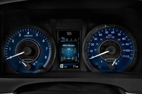 small resolution of 2015 toyota sienna se speedometer