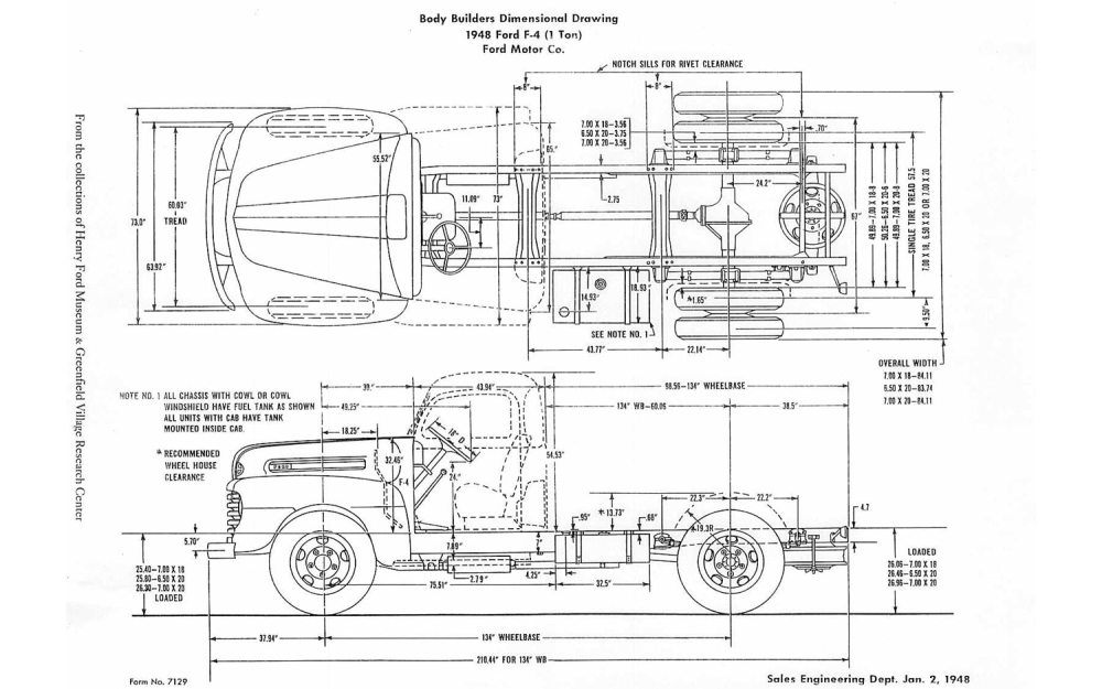 medium resolution of on this day in 1948 original ford f 1 pickup truck launched ford f 350 wiring diagram 1988 ford truck wiring diagrams