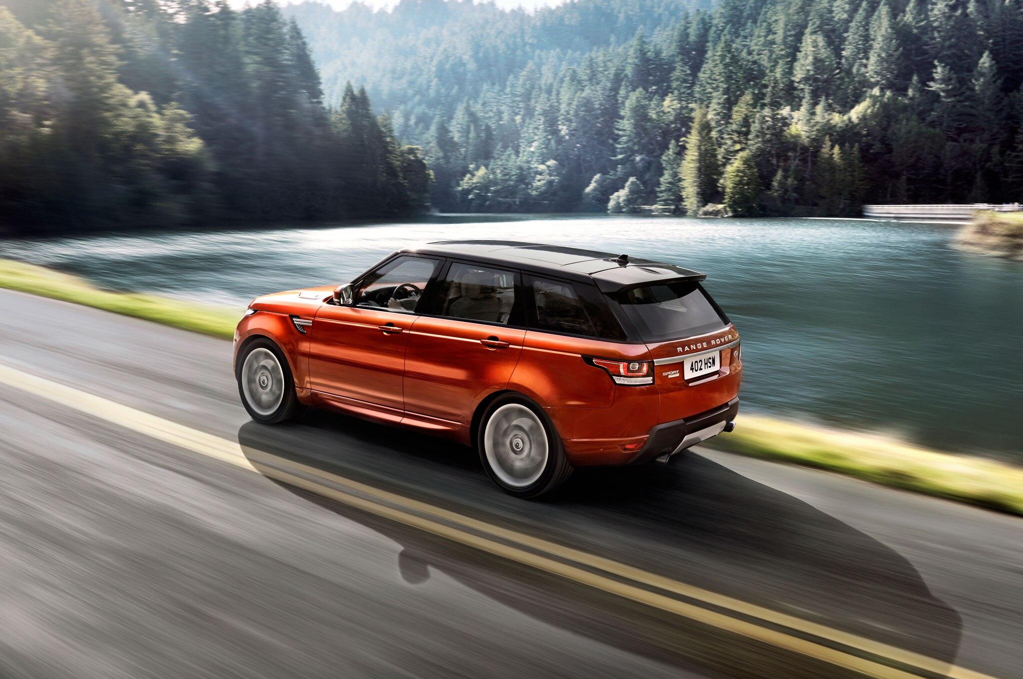 2014 Range Rover Sport Paces 2013 Pikes Peak