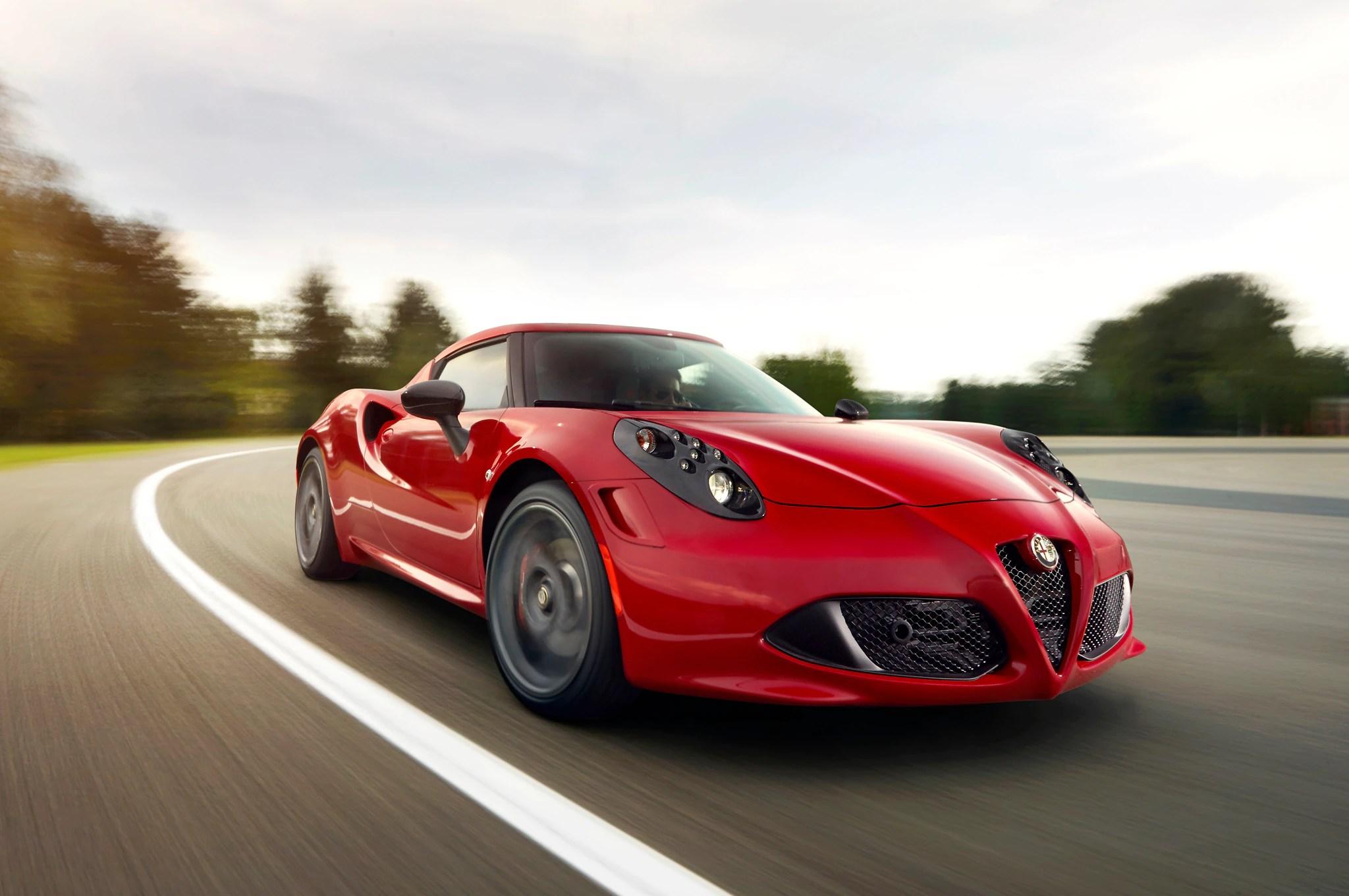 2014 Alfa Romeo 4c First Drive  Automobile Magazine