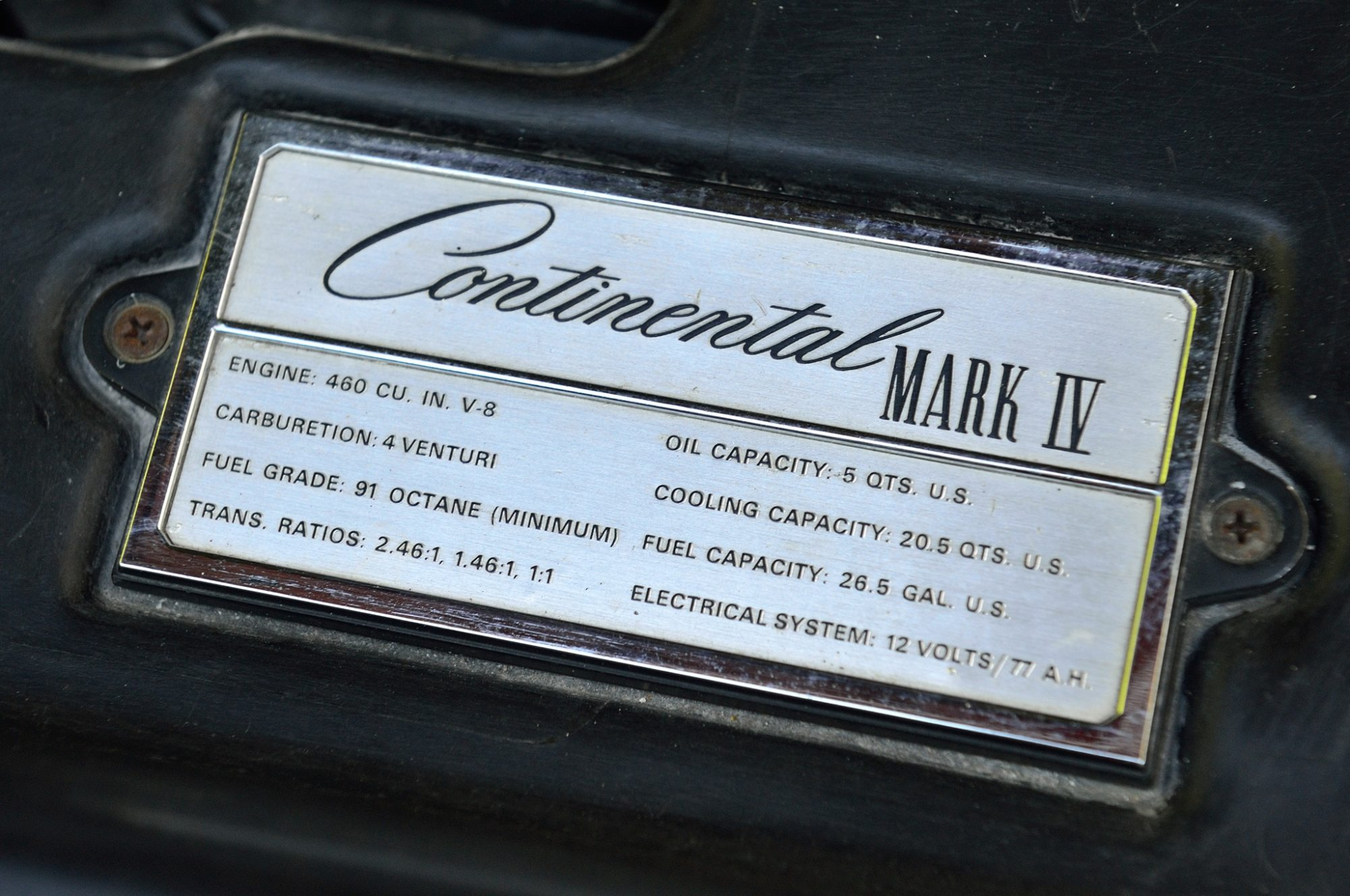 hight resolution of collectible classic 1972 1976 lincoln continental mark iv mark3 1973 1973 lincoln mark iv wiring diagram
