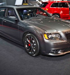 2014 chrysler 300 srt satin vapor edition front three quarter [ 2040 x 1360 Pixel ]