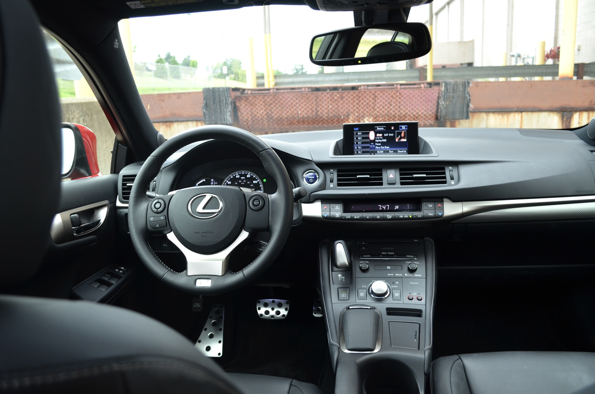2014 Lexus CT200h F Sport Around the Block