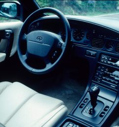 of the new japanese luxury sedans the infiniti q45  [ 2048 x 1360 Pixel ]