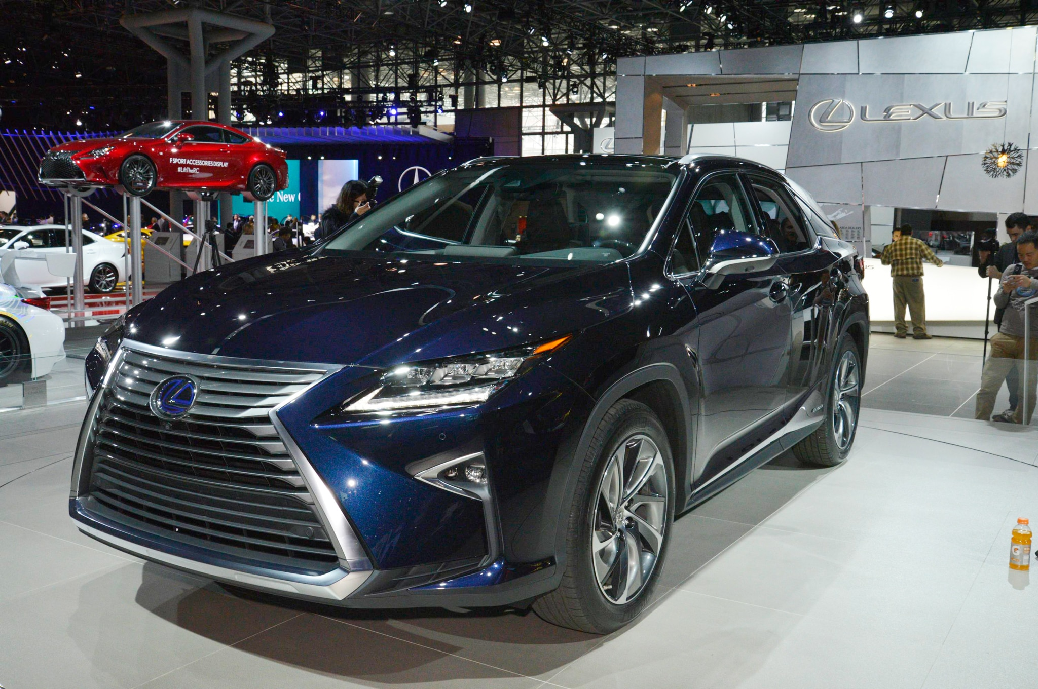 2016 Lexus RX Arrives in New York