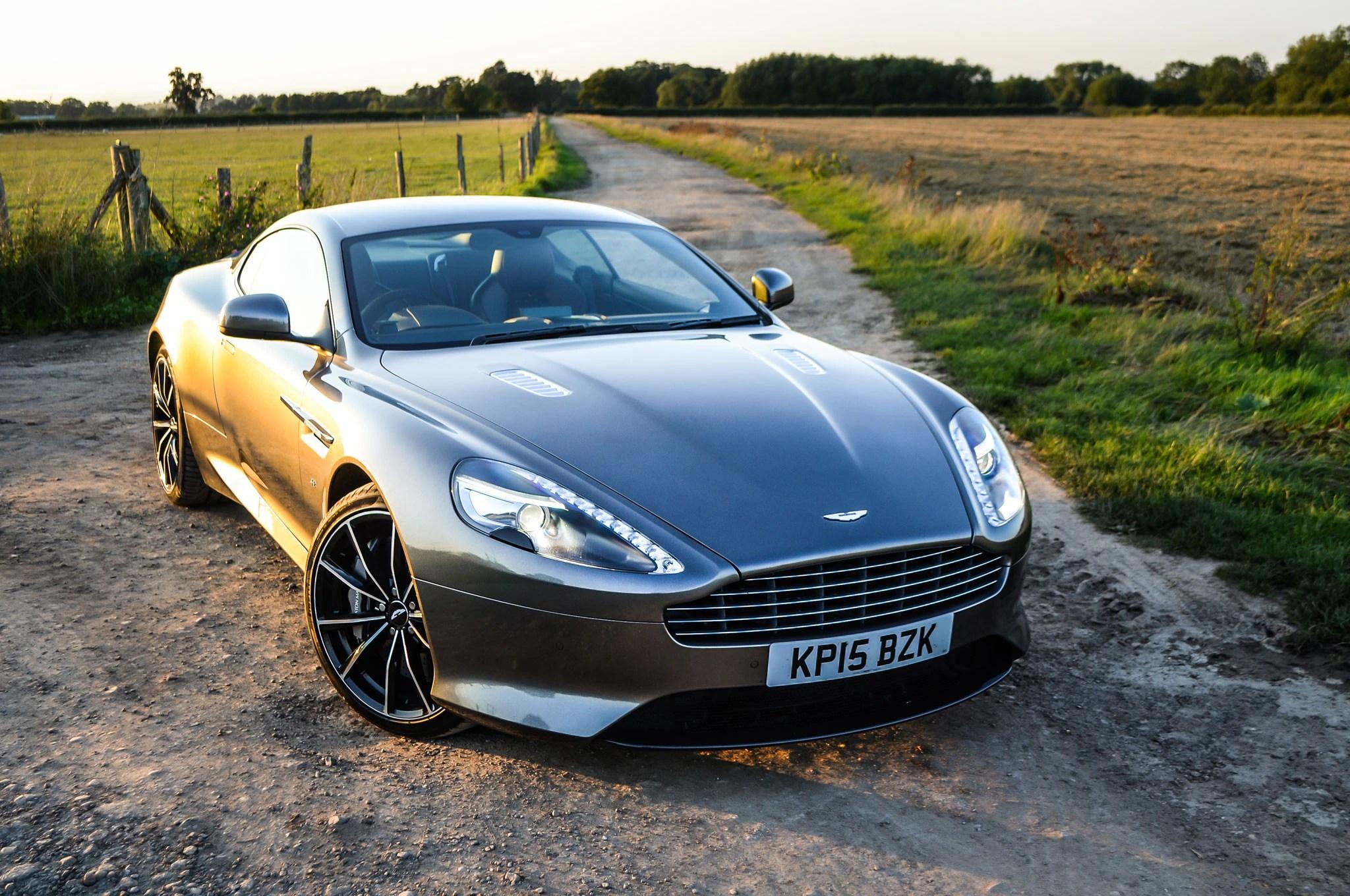 Aston Martin 2016 Gt Vanquish