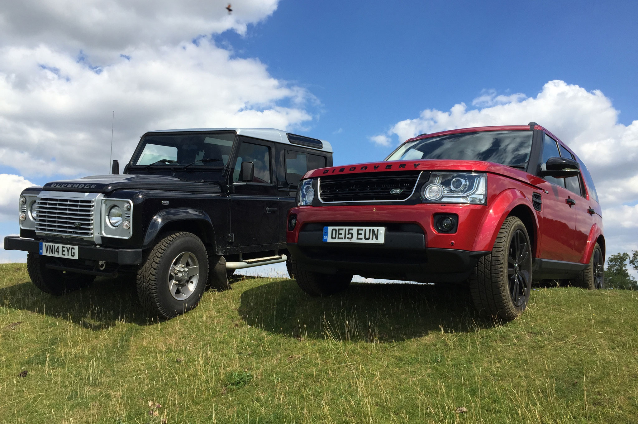 Discovering the New Land Rover Discovery