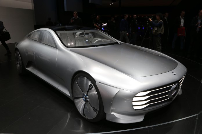mercedes-benz concept iaa is a study in aerodynamics photo gallery