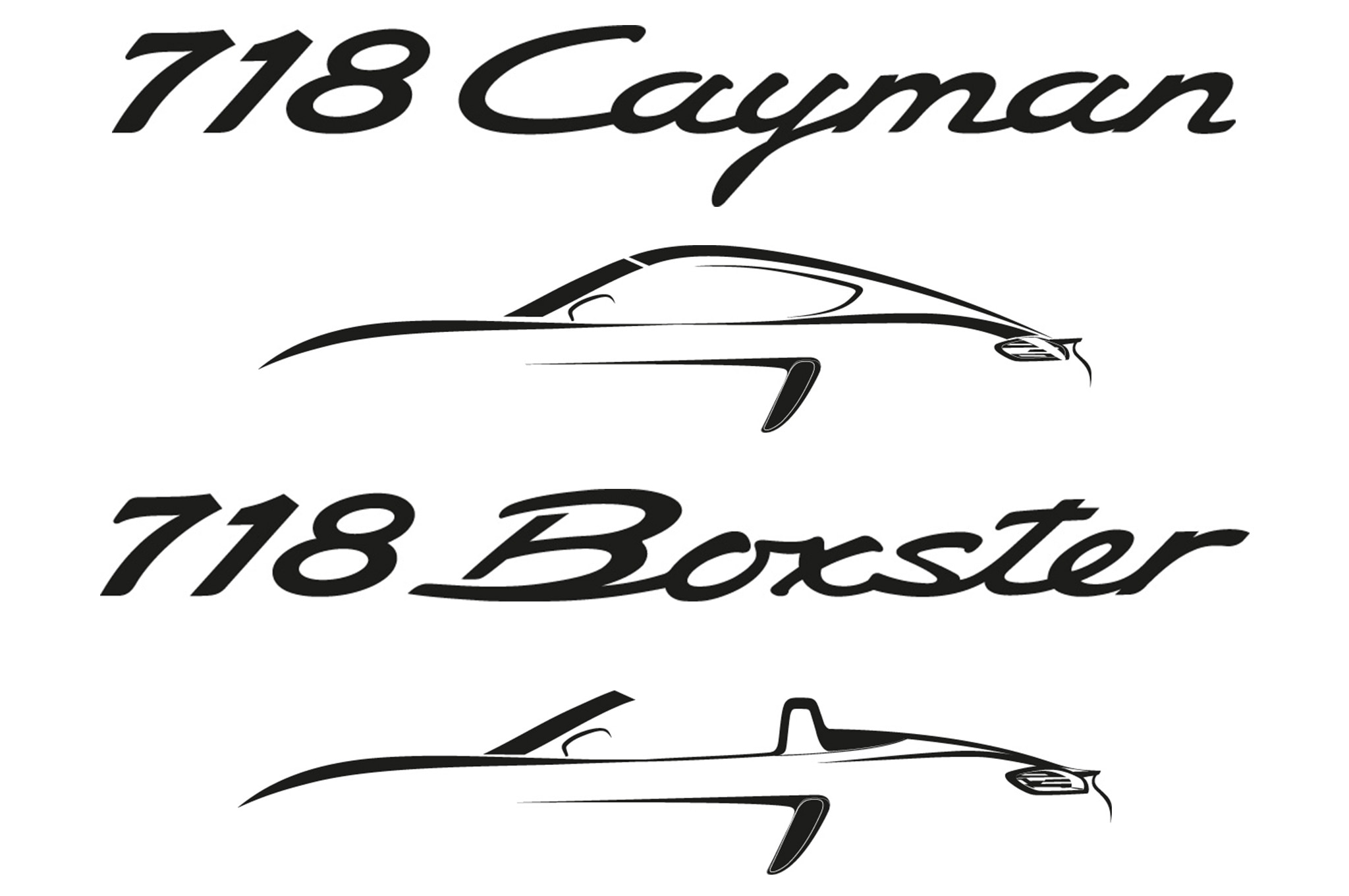 Porsche Boxster, Cayman to be Renamed 718, Go Four