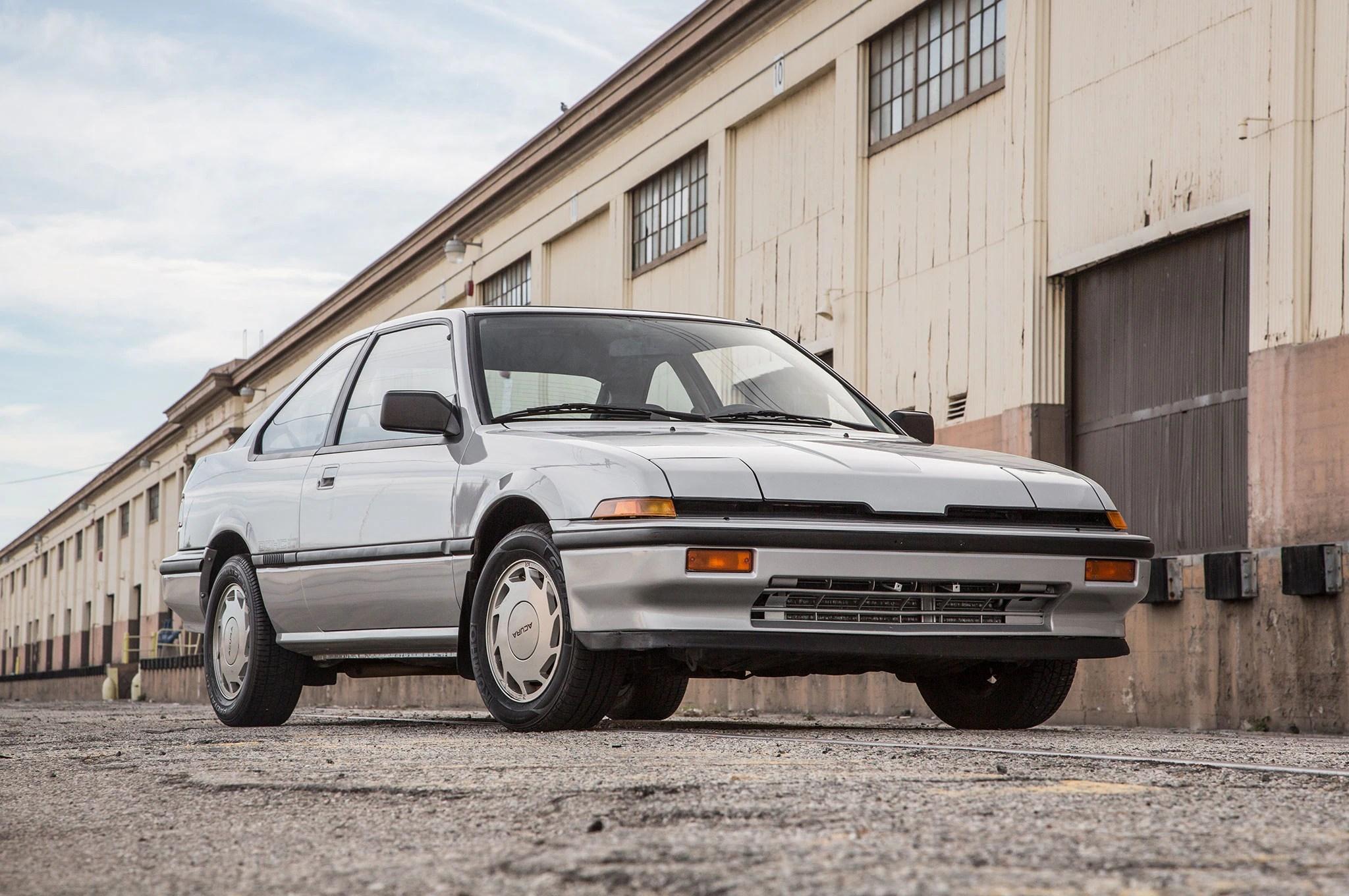 1986 Acura Integra Front Bumper