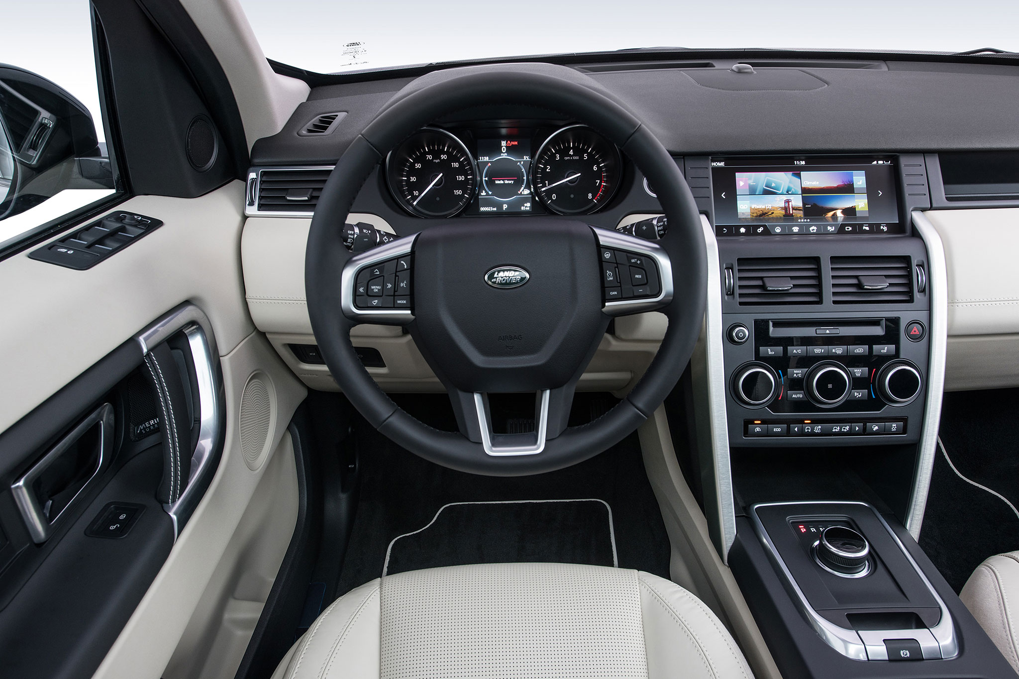 2017 Land Rover Discovery Sport Gets New Tech and Styling Updates