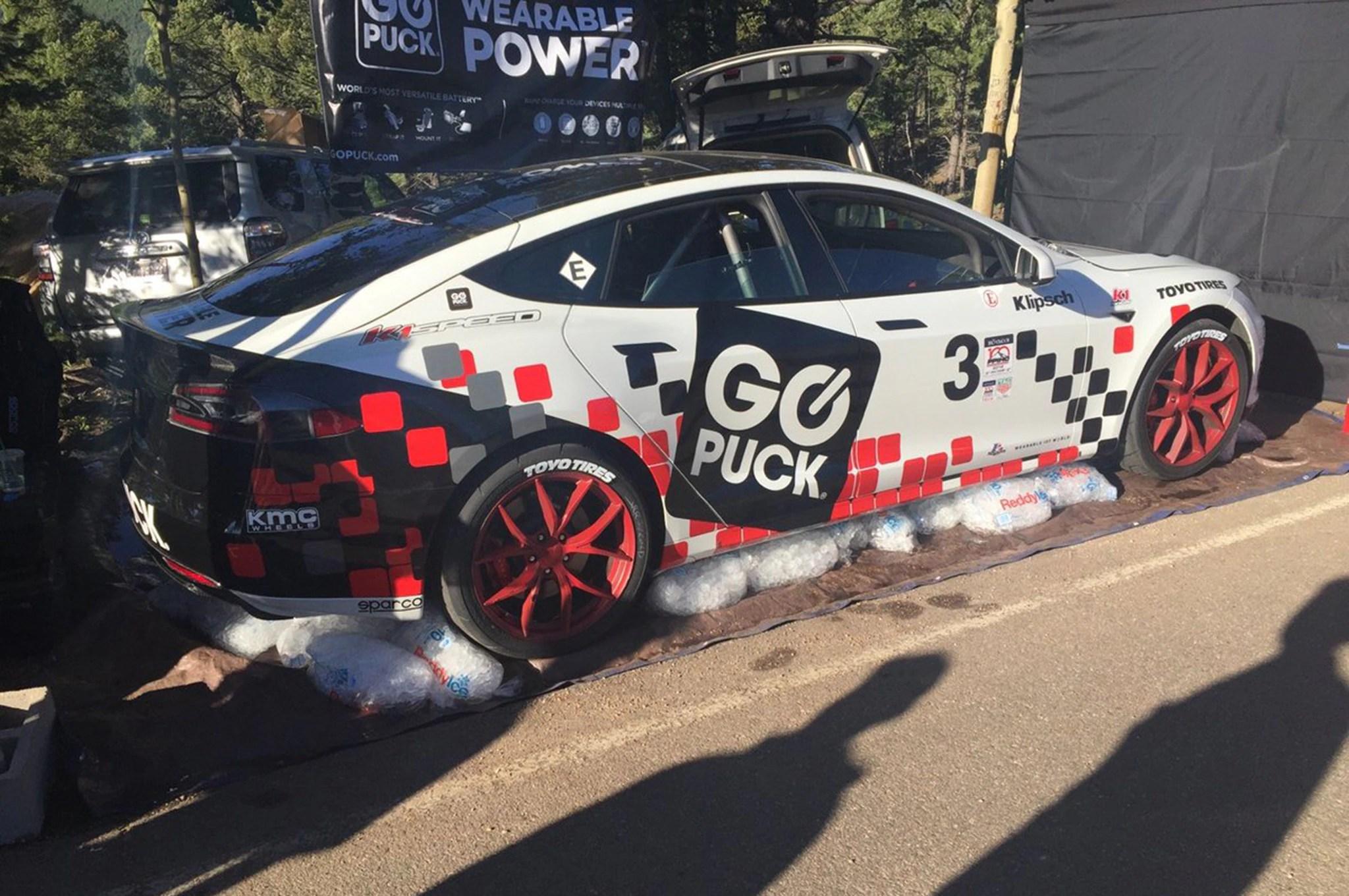 Tesla Model S P90D Sets Pikes Peak Record for Production EV