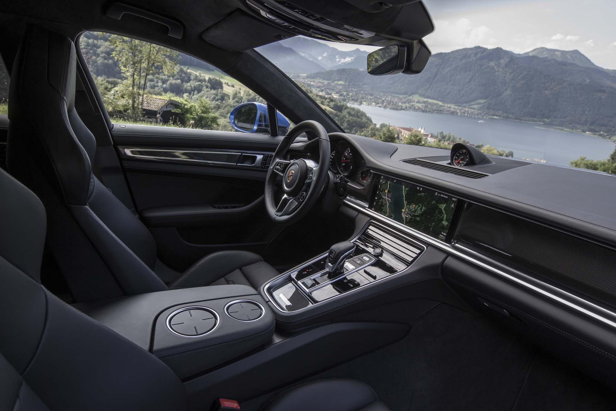 2017 Porsche Panamera 4S First Drive Review Automobile
