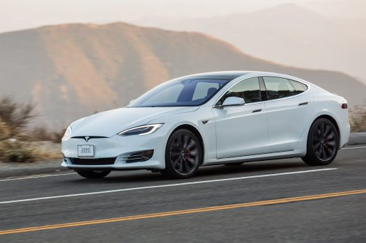 Getting Stuck in a 2016 Tesla Model S P90D | Automobile ...