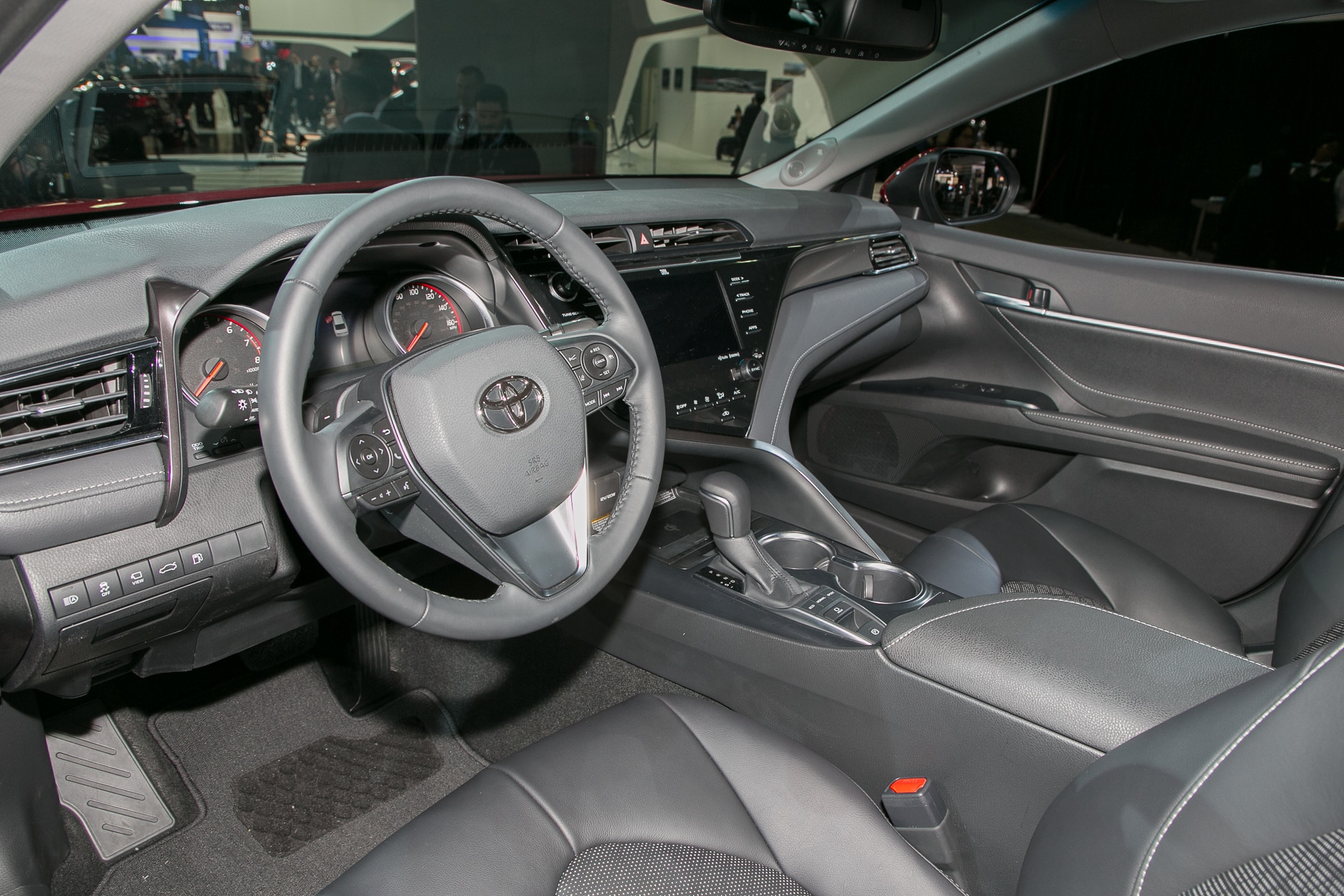 all new camry 2018 interior harga velg oem grand veloz 20 things you didn t know about the toyota automobile 09
